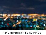Cityscape Bokeh  Blurred Photo...