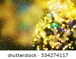 christmas background | Shutterstock . vector #534274117