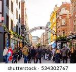 carnaby street  london  ...   Shutterstock . vector #534302767