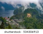 castle in forest of mountain | Shutterstock . vector #534306913