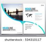 abstract vector modern flyers...   Shutterstock .eps vector #534310117