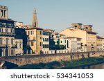city of florence  tuscany ... | Shutterstock . vector #534341053