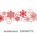 winter new year background with ... | Shutterstock .eps vector #534344773