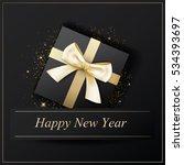 happy new year poster banner... | Shutterstock .eps vector #534393697