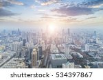 panoramic cityscape and skyline ... | Shutterstock . vector #534397867