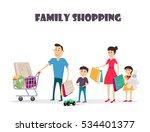 vector cartoon illustration of... | Shutterstock .eps vector #534401377