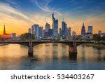 frankfurt am main. cityscape... | Shutterstock . vector #534403267