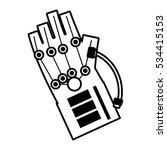 vr wired glove interaction 3d...