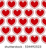 vector. seamless pattern with... | Shutterstock .eps vector #534492523
