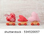 valentine's day concept with... | Shutterstock . vector #534520057