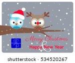 christmas greeting card  best... | Shutterstock .eps vector #534520267