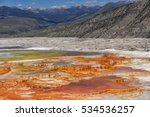 Geysers Of Yellowstone Nationa...