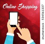 e commerce online christmas... | Shutterstock .eps vector #534561337