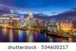 ho chi minh city view at night | Shutterstock . vector #534600217