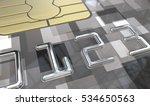 black credit card. macro view... | Shutterstock . vector #534650563