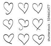 valentine's day. heart | Shutterstock .eps vector #534661477