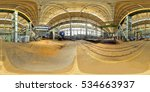 spherical panorama of abandoned ... | Shutterstock . vector #534663937