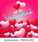 valentine card | Shutterstock .eps vector #534741493