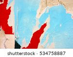 creased crumpled paper texture... | Shutterstock . vector #534758887