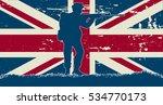 original soldier illustration...   Shutterstock .eps vector #534770173