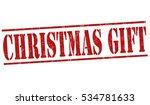 christmas gift grunge rubber...   Shutterstock .eps vector #534781633
