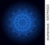 abstract light background.... | Shutterstock .eps vector #534794323