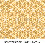 floral ornament. seamless... | Shutterstock .eps vector #534816937