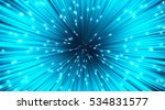 vector abstract. burst lines... | Shutterstock .eps vector #534831577