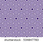 creative floral geometric... | Shutterstock .eps vector #534847783