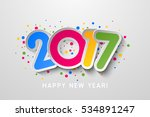 Vector 2017 Happy New Year...