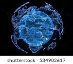 digital planet... | Shutterstock . vector #534902617