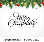 vector holiday background with... | Shutterstock .eps vector #534912163