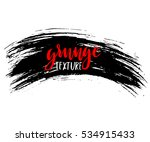 black ink vector brush strokes...   Shutterstock .eps vector #534915433