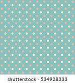 polka dot pattern for design | Shutterstock . vector #534928333