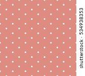 seamless polka dots pattern... | Shutterstock .eps vector #534938353