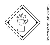 construction road sign icon... | Shutterstock .eps vector #534938893