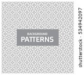 black and white geometric... | Shutterstock .eps vector #534942097