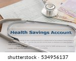 health savings account hsa... | Shutterstock . vector #534956137