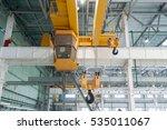 factory overhead crane | Shutterstock . vector #535011067