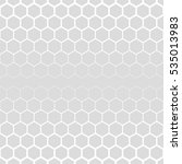 hexagonal grid design vector... | Shutterstock .eps vector #535013983