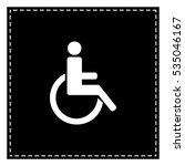 Disabled Sign Illustration....