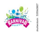 carnival vector logo | Shutterstock .eps vector #535063807