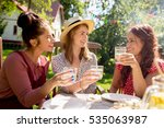 leisure  holidays  eating ...   Shutterstock . vector #535063987
