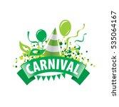 carnival vector logo   Shutterstock .eps vector #535064167