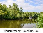 picturesque image of a nature... | Shutterstock . vector #535086253
