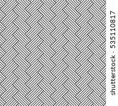 striped herringbone seamless... | Shutterstock .eps vector #535110817