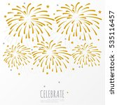 firework background  can be use ... | Shutterstock .eps vector #535116457