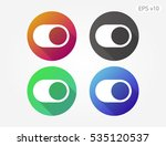 colored icon of switcher symbol ...