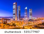 madrid  spain financial... | Shutterstock . vector #535177987