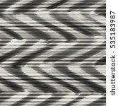 abstract irregular wavy striped ... | Shutterstock .eps vector #535183987